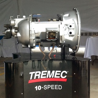 Last month, Tremec launched its redesigned 10-speed twin countershaft transmission for heavy-duty commercial trucks. Photo: Tremec