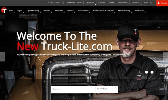 Screenshot via Truck-Lite.com