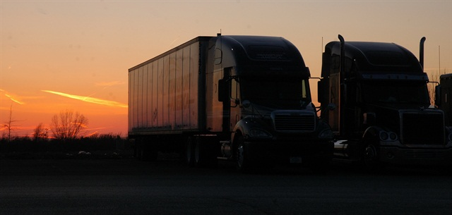 The impact of trucks hitting the road at dawn is one point of contention in the restart provisions.