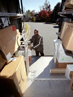 U.S. domestic package first quarter revenue increased 3.8% as daily package volume improved 2.4%. Photo: UPS