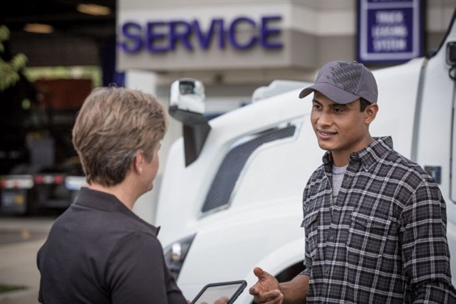 Volvo Premium Maintenance Plans are pre-paid contracts that allow customers to select and customize coverage levels and lock in current parts and labor rates. Photo: Volvo