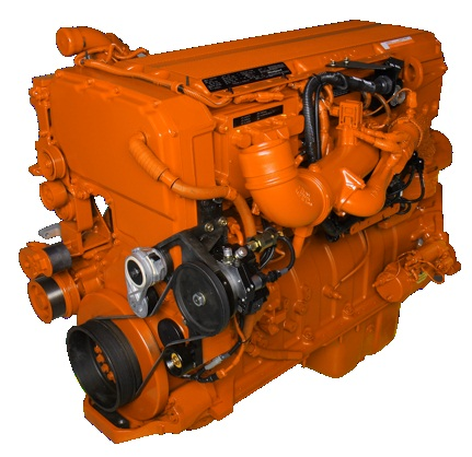 Westport 15-liter natural gas engine.