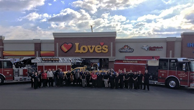 Love's new location in White House, Tenn. Photo: Love's