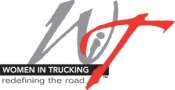 Logo courtesy of Women in Trucking