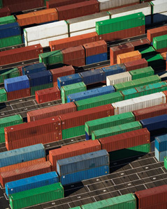 Signs of slight improvement may be pointing to a recovery for the intermodal market, especially with domestic containers.