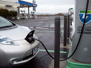 Oregon Adds Two New Electric Charging Stations