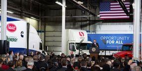 Obama Starts Next Truck Fuel Economy Rule