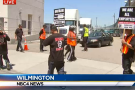 Port Truckers Strike Over Job Misclassification