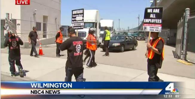 Port Truckers Strike Over Job Misclassification
