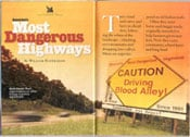 Reader's Digest Names Most Dangerous Highways
