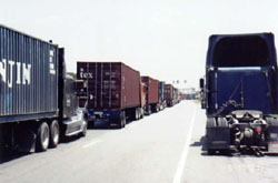 Truckers regularly face hours-long waits at the Port of Savannah.