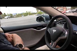 White Trailer Proved Invisible to Tesla's Autonomous System