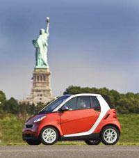 Averitt Express will give away a Smart car.