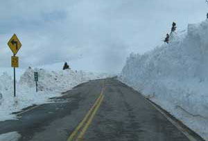 Video monitors will allow travelers to view real-time conditions on the state's highways. (Photo courtesy of CDOT)
