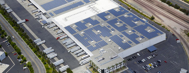 U.S. FoodService Flips Switch on Solar-Powered Warehouse