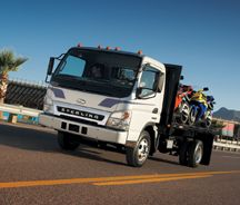 Despite new introductions like the Sterling 360, the brand has never achieved the same kind of penetration as the Freightliner badge.