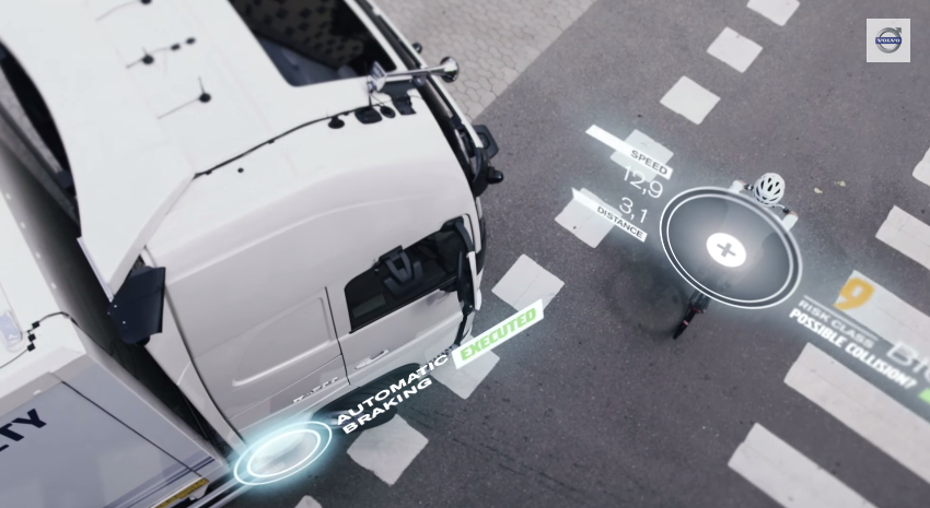 Volvo Safety Technology Gives 360-Degree View