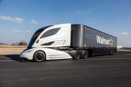 Walmart Shows Off Futuristic Tractor-Trailer