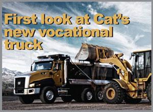 Cat Execs Proud of New CT Vocational Trucks; Short Drives Verify Premium Look and Feel