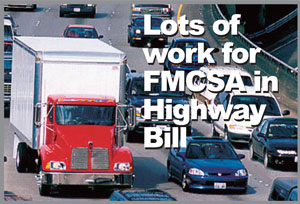 New Highway Law a Big Work Order for FMCSA