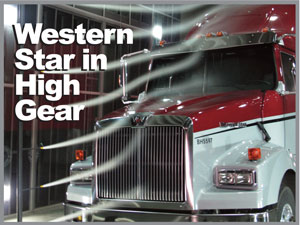 Western Star's new 4900FE (fuel efficiency) package combines fuel efficient components and packaging with the traditional look and feel of a Western Star truck.