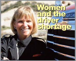 WIT: Women Could Help Solve Driver Shortage