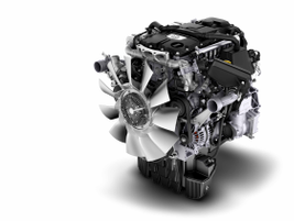 The engine will first be offered in 210 hp, 575 lb-ft and 230 hp, 660 lb-ft ratings.