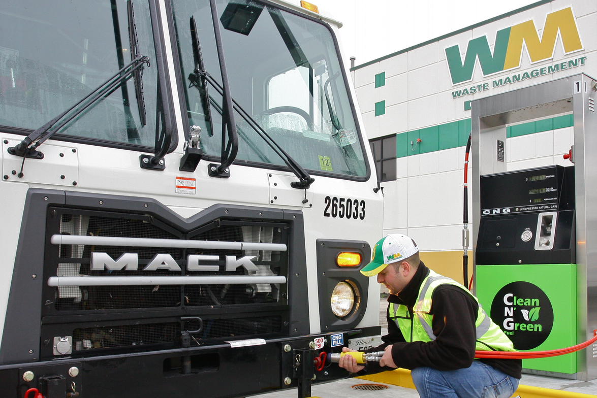 Waste Management has been a pioneer in the use of natural gas, already operating more than 1,400...