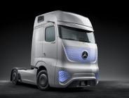 The shape of the cab is quite a departure from the company's flagship Actros model, but the...