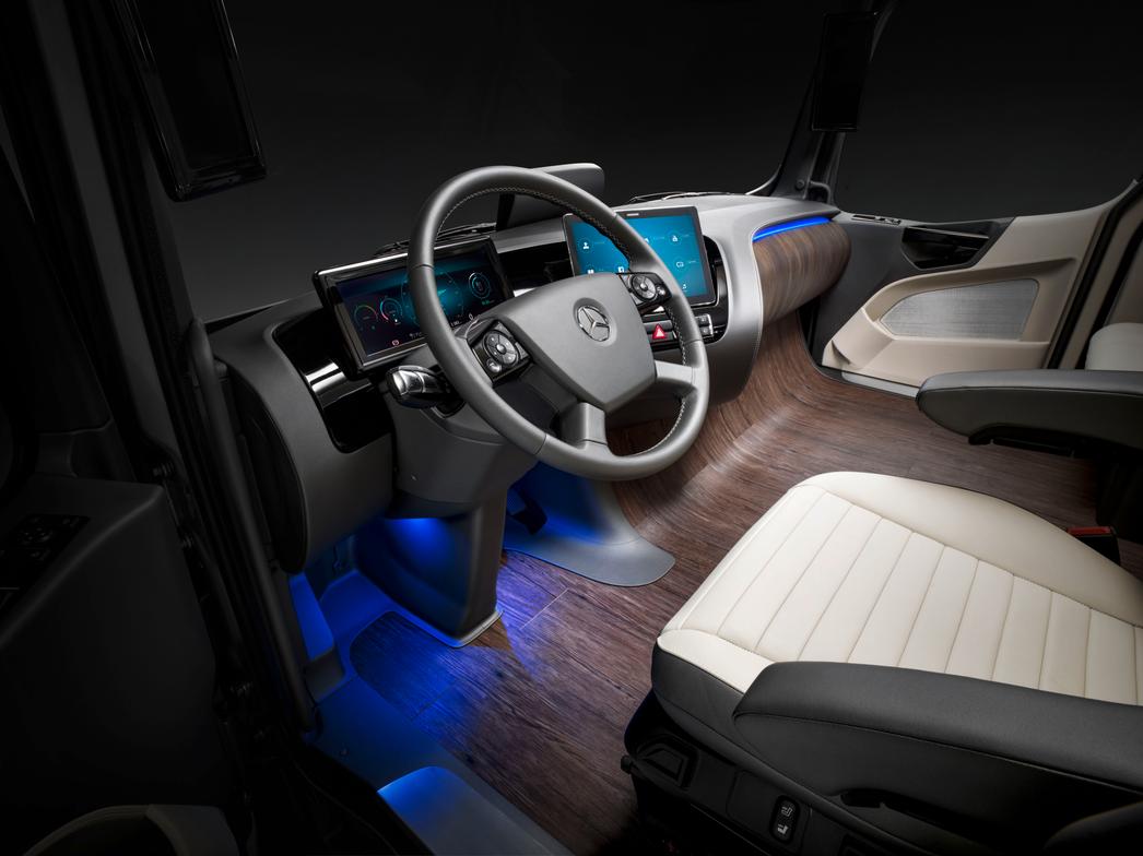 daimler trucks unveils mercedes-benz future truck - safety