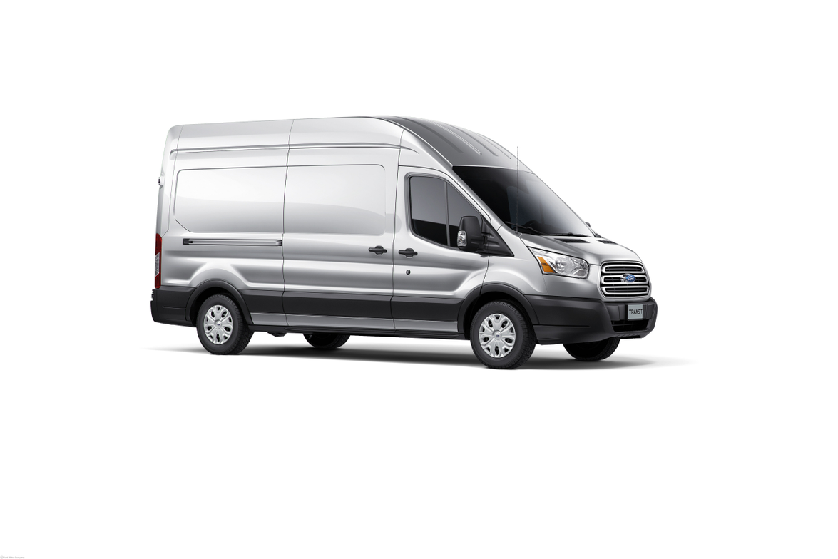 The Ford Transit has a front engine, rear-drive layout and will offer two wheelbases, three body...