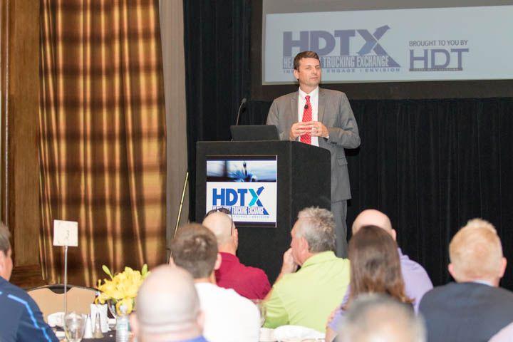 Jeff Sass, senior vice president, North America Truck Sales and Marketing at Navistar, opened...