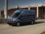 Dual sliding side cargo doors will be available for the first time on 2016 Ford Transit medium-...