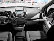SYNC 3, Ford's new communications and entertainment system, is available on Transit for 2016