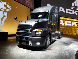 Mack's New Anthem Highway Tractor in Photos