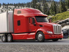 Improved aerodynamics mean owners can get 1% better fuel economy than a Model 579 with a...