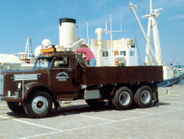 Scania-Vabis Regent LS71 was built 1954-1958. It was equipped with power steering and air...