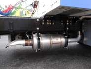 The passive three-way-catalyst exhaust aftertreatment system used onspark-ignited natural gas...