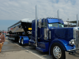 Michael Divitto, MJD Construction, Inc. Pawling NY, 2018 Peterbilt 389