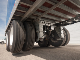 When traveling empty or lightly loaded, the lift axle automatically lifts, saving fuel as well...