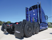 The first of its kind, the FlowBelow Tractor AeroKit consists of aerodynamic wheel covers and...