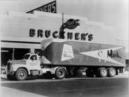 Original location of Bruckner, on Fillmore Street in Amarillo. This photo was taken when Mack...
