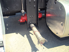 Roper product pumps are used throughout the Carbon Express fleet. Photo: Carbon Express