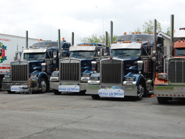 Many truckers, who raise their own funds for the event, return year after year.