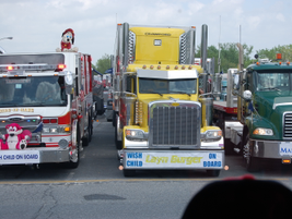 This year's 380 trucks was 45 more than last year. The convoy for the first time was sponsored...