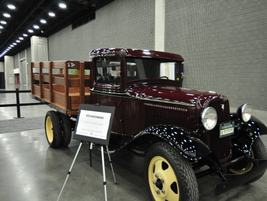 1933 Ford stakebed, owned by Jimmy Rogers, Frankfort, Ky. Photo by Jim Park