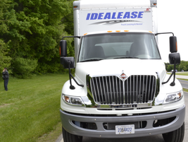 The International DuraStar with a Cummins ISB and mated to an Allison 2500 RDS was configured as...