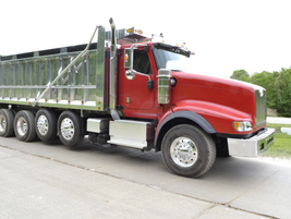 The International PayStar 5900 with Cummins ISX matched to an Eaton Fuller Manual transmission.