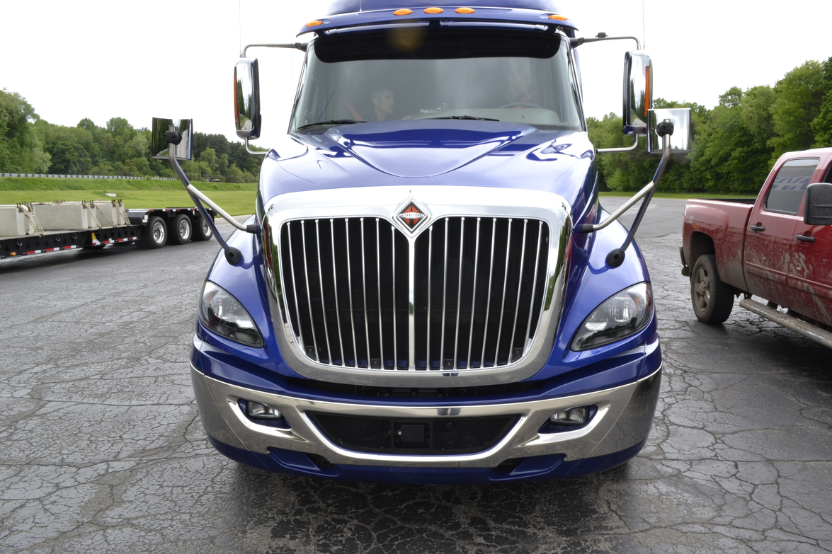 The International ProStar with a Cummins ISX15 matched to a Eaton Fuller Advantage 10-Speed AMT.