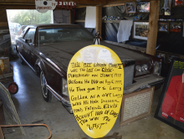 This is puported to be the last car Elvis Presley ever bought. Photo by Christina Hamner